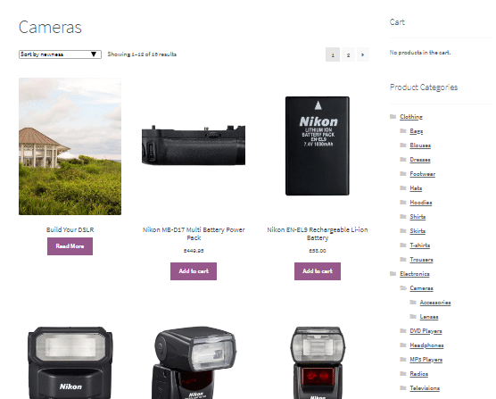 country catalogs for woocommerce
