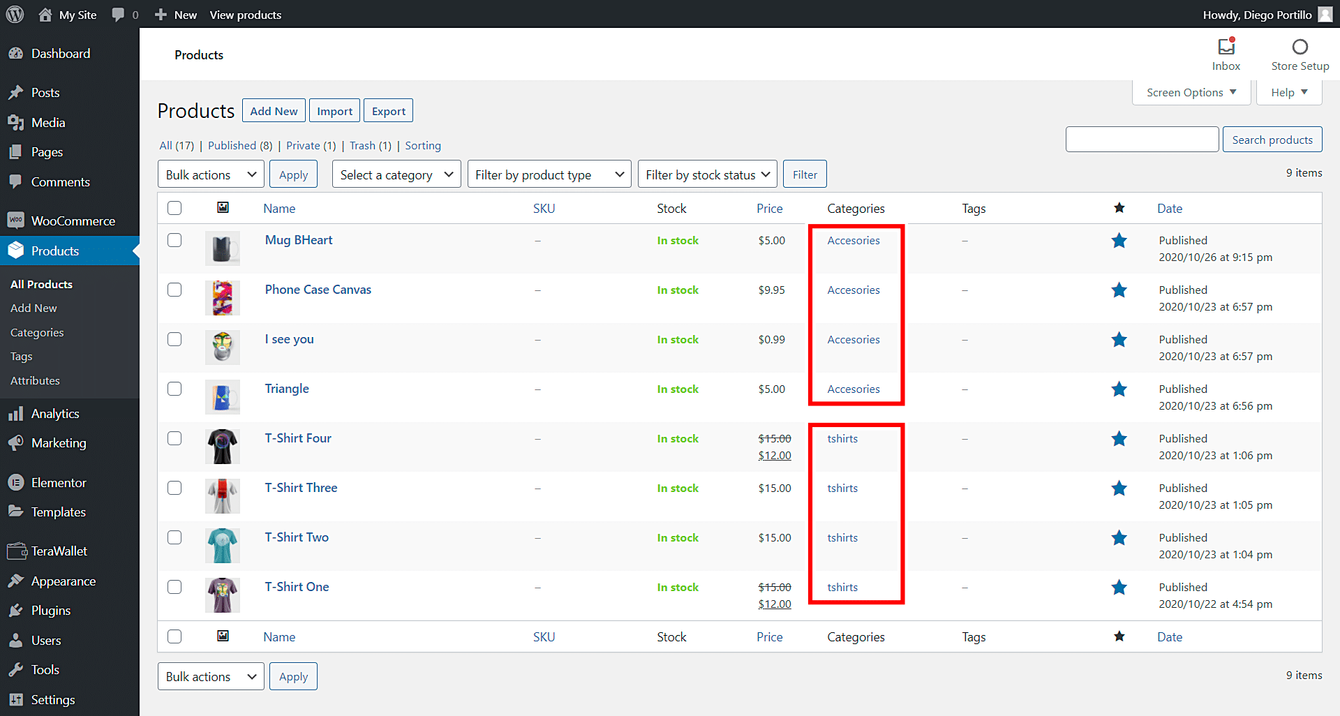 disable payment gateways when buying from multiple categories